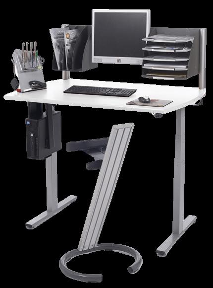 Bureau assis debout électrique et ergonomique