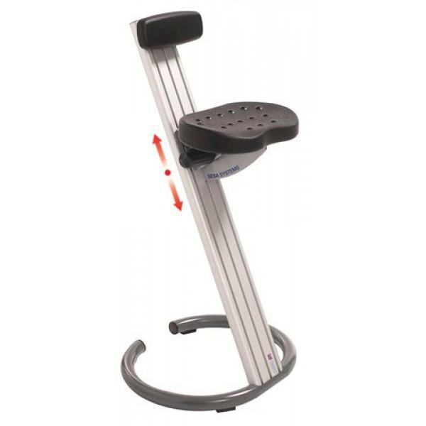 Workshop standing seat with backrest | WORKSHOP STANDING SEAT C