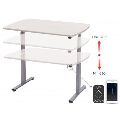 Electrically adjustable ergonomic desk | LEANERGO ELECTRIC