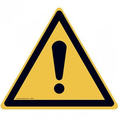 Pictograms Caution danger W001