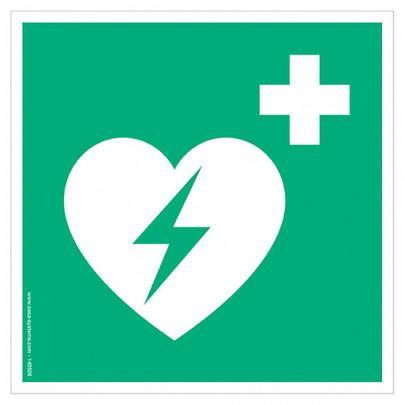 Pictograms Defibrillator E010