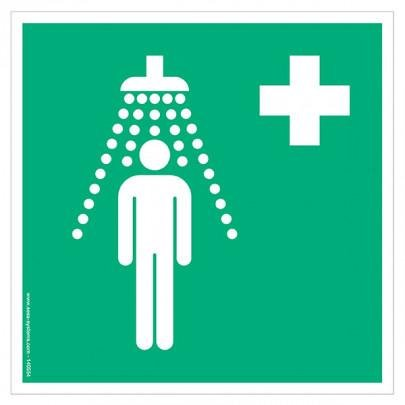 Pictograms Safety shower E012