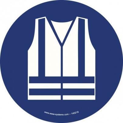 Pictograms Safety vest M015