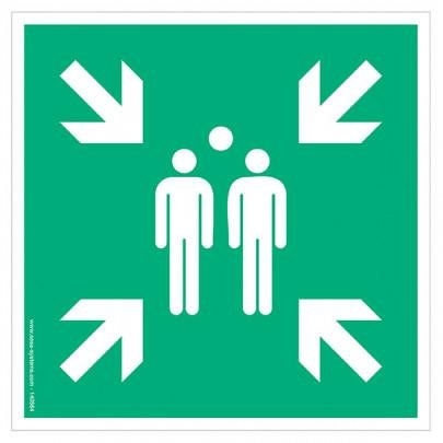 Pictograms Assembly point E007