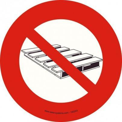 Pictograms Storage prohibited P023