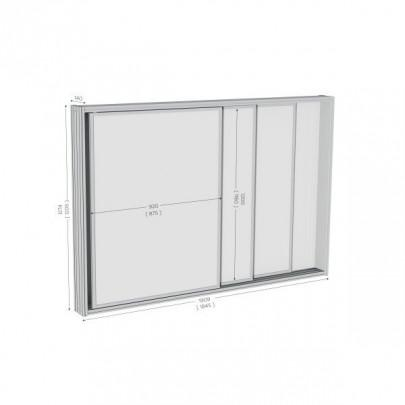 High quality wall-mounted display case | MOD'INFO