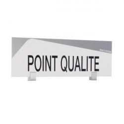 "Bandeau design ""POINT QUALITÉ"""
