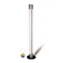 Lampadaire LED design recto/verso | TUBLIGHT