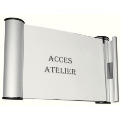 Plaque de porte Design