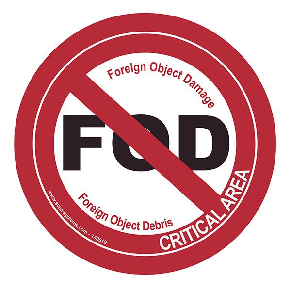 Pictogrammes FOD - Foreign Object Damage