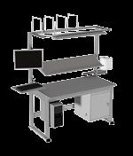 Poste de travail ergonomique d'atelier