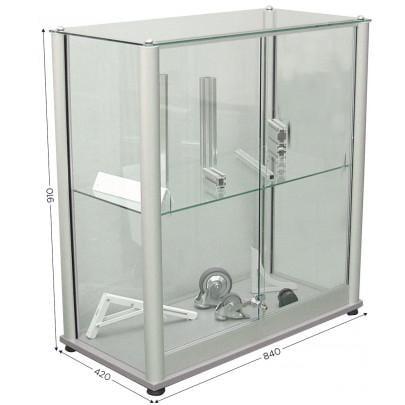 Vitrine d'exposition en verre | VITRINE D'EXPOSITION C