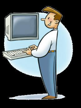 mascotte SESA SYSTEMS ordinateur